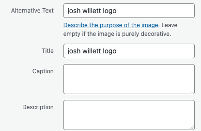 josh willett logo